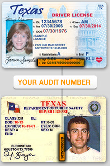Number Texas On - Is Where Drivers Ualastchance's License Diary Audit
